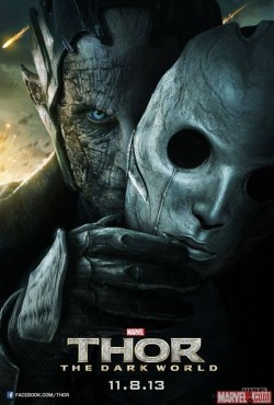 Thor: The Dark World karakterposter met Christopher Eccleston als Malekith the Accursed