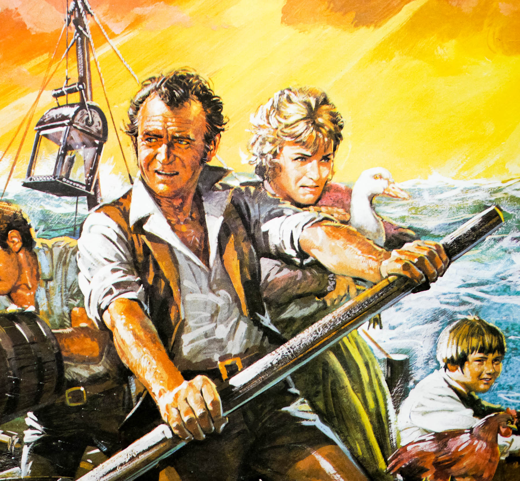 Swiss Family Robinson Quad Re Release Uk