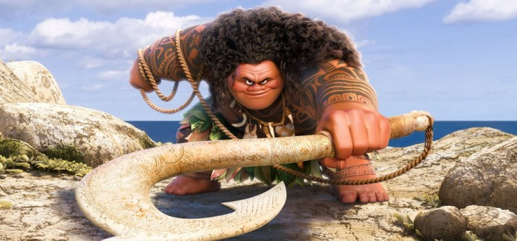 """""""You're Welcome"""" Sings Maui In Exclusive Moana Track"""