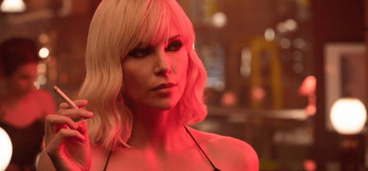 Sizzling New Poster For Atomic Blonde Arrives