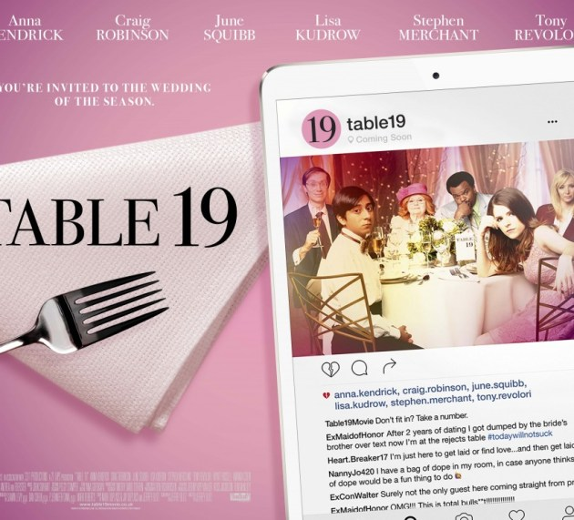 Anna Kendrick Is Head Of The Table In New Table 19 Poster & Featurette
