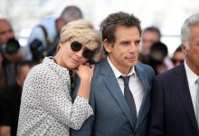 """Emma Thompson & Ben Stiller at """"The Meyerowitz Stories"""" photocall. (Source: Getty Images)"""
