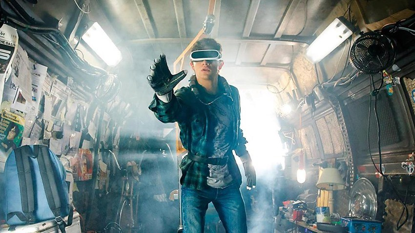 Steven Spielberg's Ready Player One gets a retro-style poster