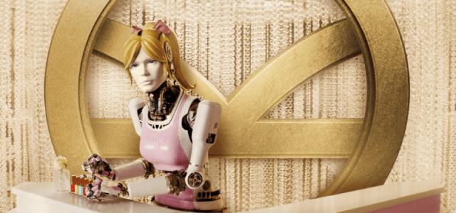 Meet Kingsman's Beauty Bot Co-Created By Claudia Schiffer