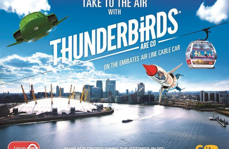 F-A-B! Thunderbirds Day Celebrations To Sweep London This September