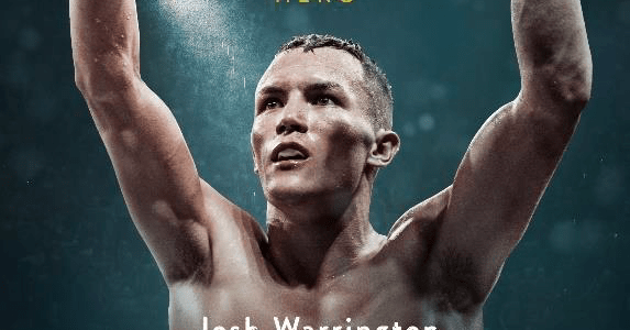 """JOSH WARRINGTON: FIGHTING FOR A CITY"" Available On DVD and Digital Download on 26 November 2018"