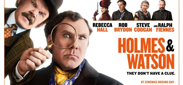 """""""HOLMES & WATSON"""" Brand New Posted Released"""