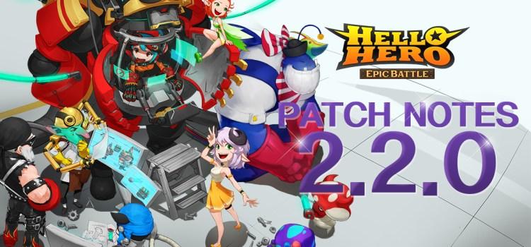 Hello Hero: Epic Battle Update 2.2.0