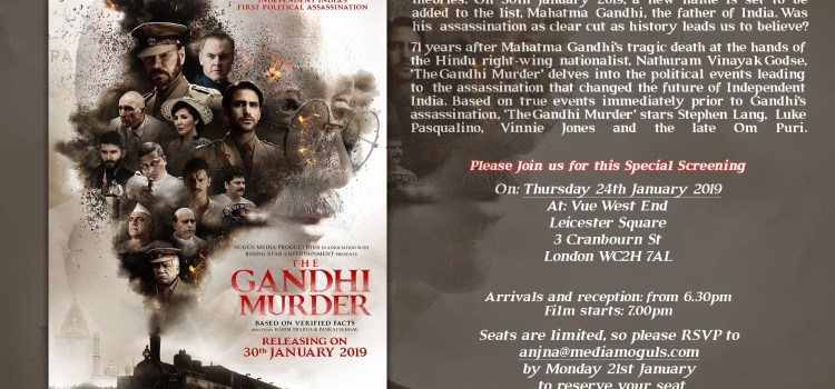 The Gandhi Murder – New film questions whether the British  were complicit in Gandhi's Assassination?