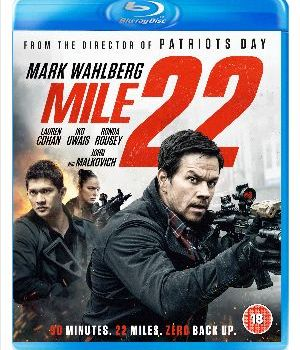 Mile 22Available to Digital Download on January 12 and on Blu-ray™ & DVD on January 28