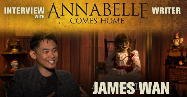 James Wan intervistato in occasione di Annabelle Comes Home