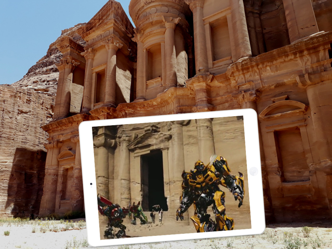 Image result for transformers in petra
