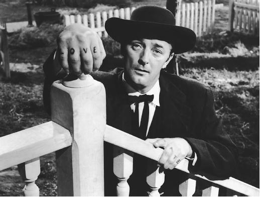 Robert Mitchum love hate