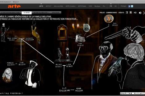 """O plimbare virtuală prin colecția de artă în """"Bielutin"""""""