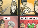 "John Lennon's ""Imagine,"" Made Into A Comic Strip"