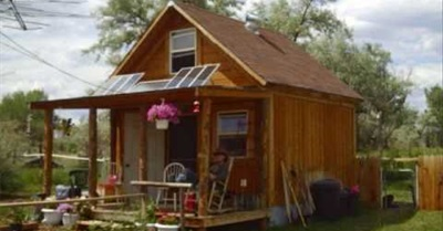 Simple Sustainable Off-Grid Living: How To Build A Solar Cabin For $2,000
