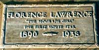Florence Lawrence Gravestone