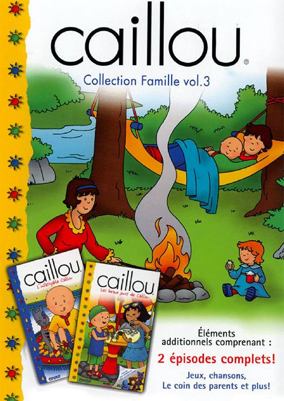 Caillou Et Ses Amis Une Serie Pour Les Enfants Pour Quel Age