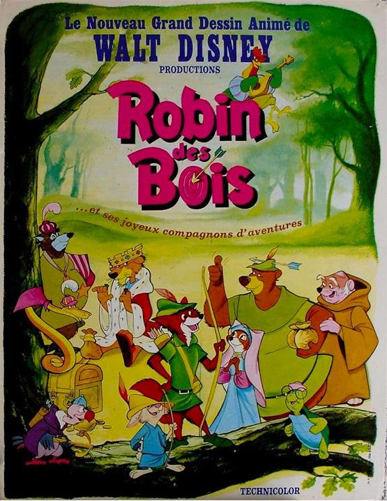 Robin Des Bois Dessin Anime : robin, dessin, anime, Robin, Disney, Analyse, Enfants