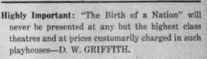 From an ad in The Oshkosh Northwestern, 18 Dec 1915.