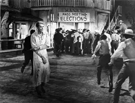 James Stewart in The Man Who Shot Liberty Valance