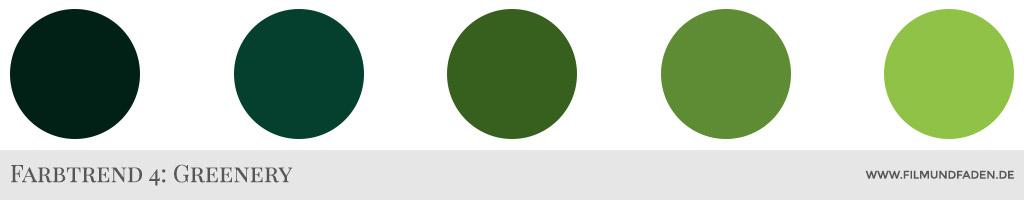 Farbtrend 4: Greenery