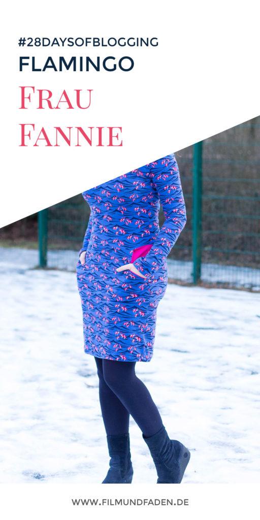 FrauFannie von Fritzi Schnittreif im Flamingo Muster