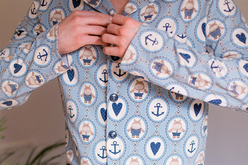 Geschenkidee für Ihn: Pyjama nähen