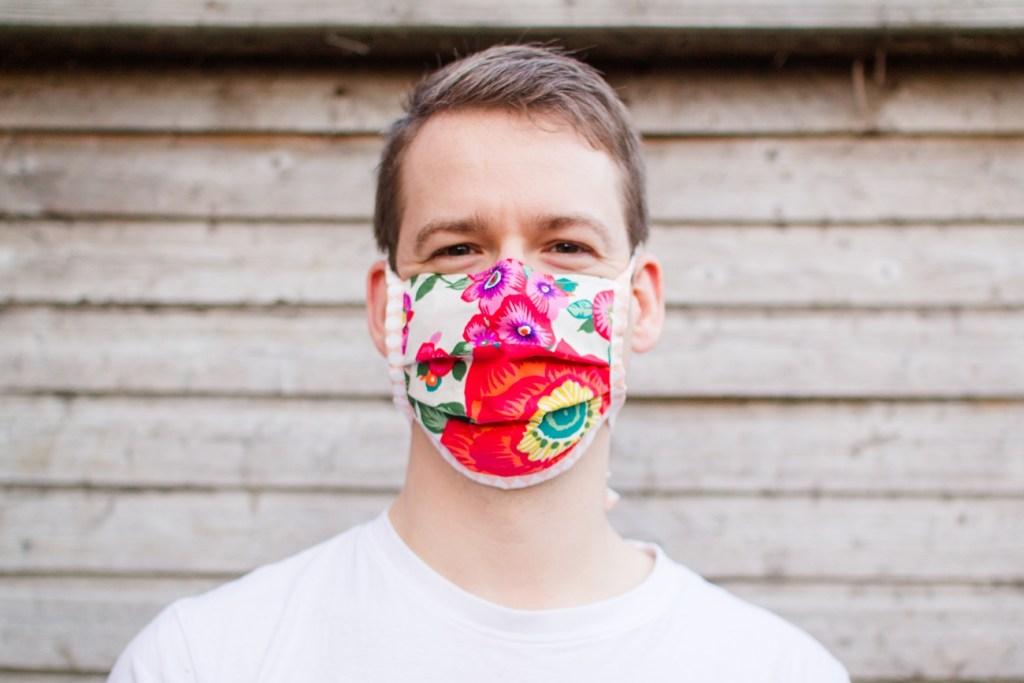 Tragevariante für Nase-Mund-Maske