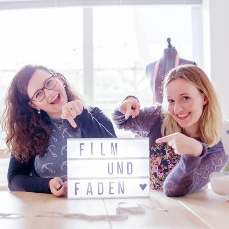 Miriam & Sarah sind Film & Faden