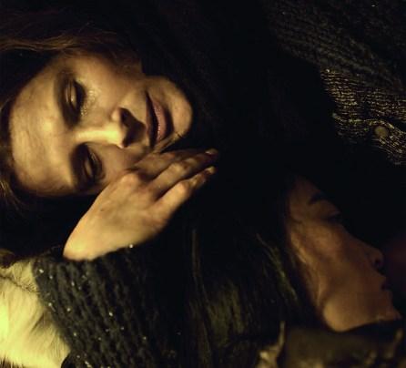 "Juliette Binoche as Josephine and Rinko Kikuchi as Allaka in ""Nobody Wants the Night.""  Premiered at the 65th Berlinale, Feb 2015."
