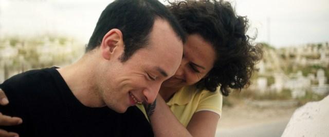 "Hedi (Majd Mastoury) falls in love with Rim (Rym Ben Messaoud) in ""Hedi"""