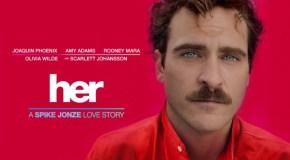 Die Stirn von Joaquin Phoenix in Her: Ein zweites Gesicht?