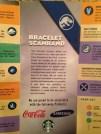 jurassic park broschüre armband