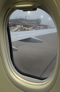 Geschafft. Ich sitze im Flugzeug. Jetzt kann es losgehen.