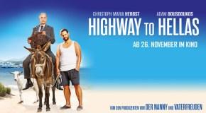 HIGHWAY TO HELLAS: Verlosung zum Filmstart der Culture-Clash-Komödie mit Christoph Maria Herbst
