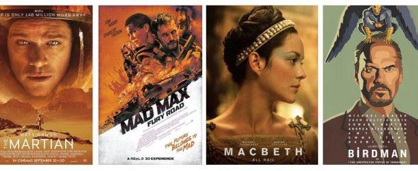 Die besten Filme 2015: Die Top 5 der filmverliebt-Redaktion