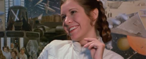 """Star Wars Celebration : """"A Tribute To Carrie Fisher"""" Video"""