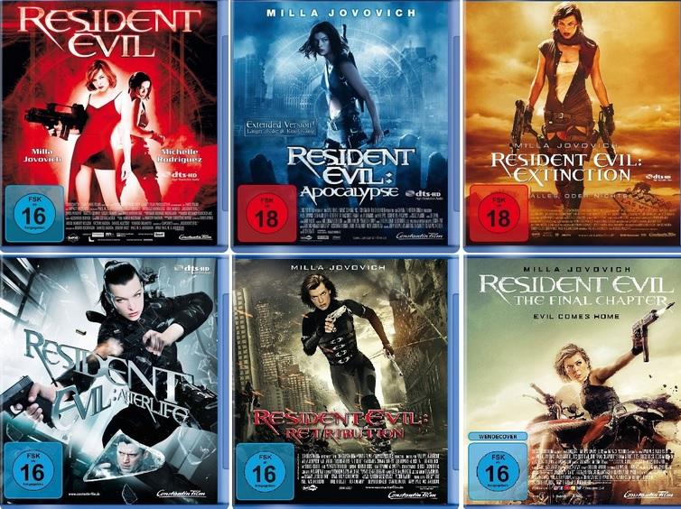 resident evil filmreihe