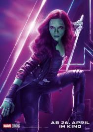 Gamora - Infinity Wars 2018