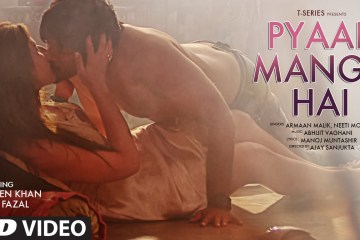 Ali Fazal and Zareen Khan's version of 'Pyaar Manga Hai' Song