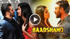 Salman Khan, Salman Khan KISSES, Katrina's Birthday, Baadshaho First Song, Ajay Devgn, Ileana, Bollywood News