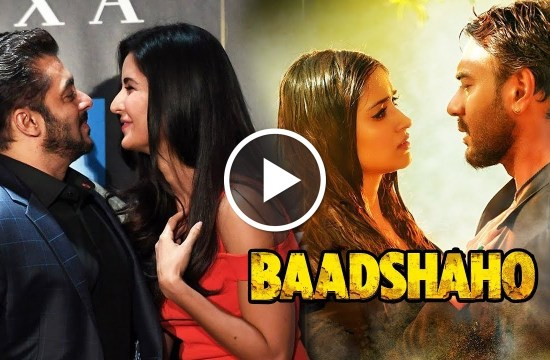 Salman Khan, Salman Khan KISSES, Katrina's Birthday, Baadshaho First Song, Ajay Devgn, Ileana, Bollywood News