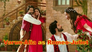 Varun Dhawan and Alia Bhatt Seen as Romeo and Juliet in this new ad!