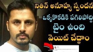 Nithin Serious Warning To Sri Reddy | Sri Reddy Controversy On Pawan Kalyan