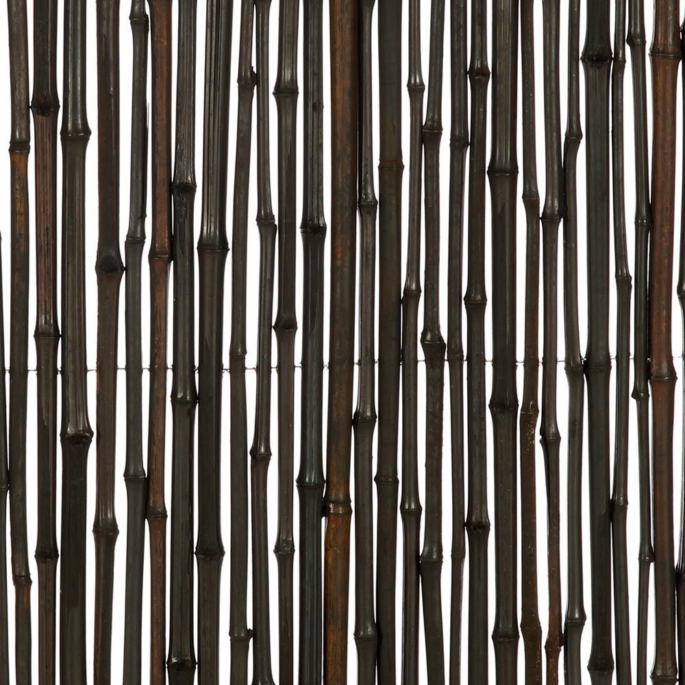 brise vue canisse bambou noir l 3m