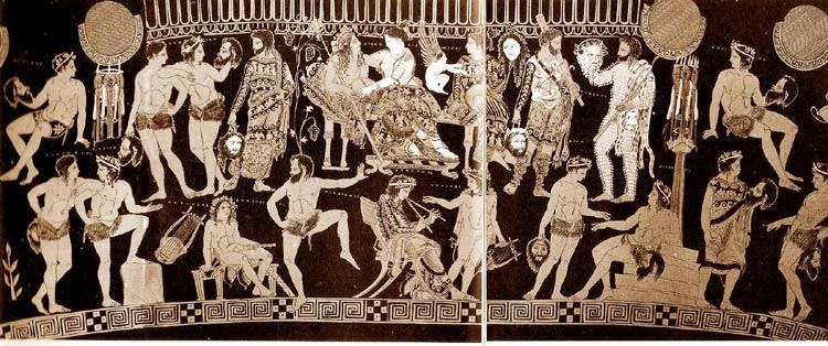 Ζητήματα αρχαίου ελληνικού θεάτρου σε μορφή ερωταποκρίσεων: (5) Απαρχές και εξέλιξη του αρχαίου ελληνικού θεάτρου