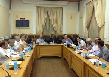 Συνάντηση Υπουργού Παιδείας με Διευθυντές Εκπαίδευσης Κρήτης