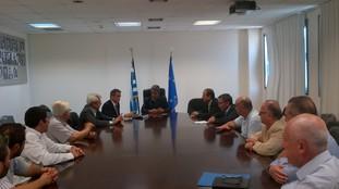 Συνάντηση του Υπουργού Παιδείας με το Δ.Σ του Συνδέσμου Ιδρυτών Ελληνικών Ιδιωτικών Εκπαιδευτηρίων