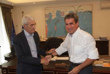 Συνάντηση Υπουργού Παιδείας με το δήμαρχο Θεσσαλονίκης